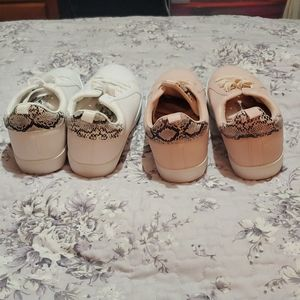 New 2 pairs of shoes